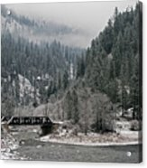 Clearwater River Acrylic Print