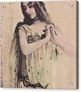 Cleo De Merode Acrylic Print