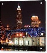 Cleveland Panorama Acrylic Print