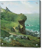 Cliffs Of Greville Acrylic Print