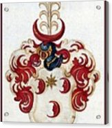 Coat Of Arms. Acrylic Print