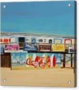 Cocoa Beach/cape Canaveral Pier Acrylic Print