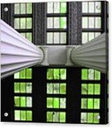 2 Column Stain Green Acrylic Print