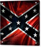 Confederate Flag 19 Acrylic Print