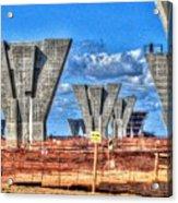 construction WHSD Acrylic Print