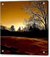 Copper Sunset Acrylic Print
