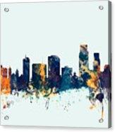 Corpus Christie Texas Skyline Acrylic Print