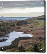Crag Lough Acrylic Print