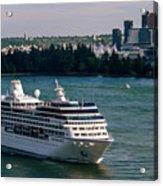 Cruise Ship 4 Acrylic Print