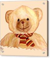 Cuddly Bear Acrylic Print