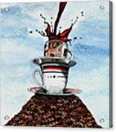 2 Cups Coffee Acrylic Print