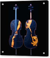 Custom Gliga Cello Acrylic Print