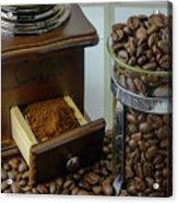 Daily Grind Coffee Beans Acrylic Print