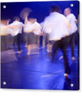 Dancers In Motion  Acrylic Print