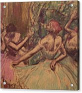 Dancers In The Wings Acrylic Print