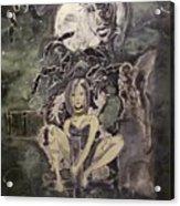 Dark Religion Acrylic Print