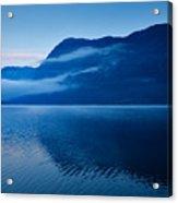 Dawn At Lake Bohinj In Slovenia Acrylic Print