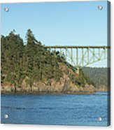 Deception Pass Acrylic Print