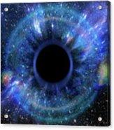 Deep Black Hole, Like An Eye In The Sky Acrylic Print