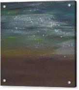 Desert Moonlight Acrylic Print