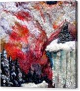 Detail Of Winter Acrylic Print by Kimberly Simon