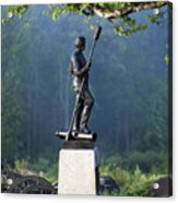 Devil's Den Monument At Gettysburg Acrylic Print