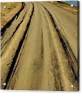 Dirt Road Winding Acrylic Print