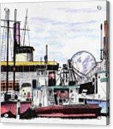 Docks Acrylic Print
