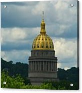 Dome Of Gold Acrylic Print