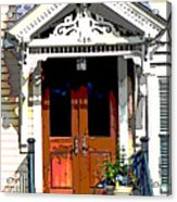 Door Series Acrylic Print by Ginger Geftakys