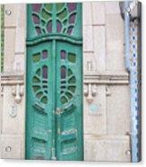 Doors Of Portugal  Acrylic Print