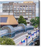 Downtown Waterloo Iowa Acrylic Print