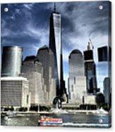 Dramatic New York City Acrylic Print