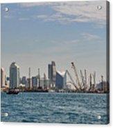 Dubai Creek And Abra Boats Acrylic Print