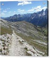 Durrenstein, Dolomites, Italy Acrylic Print