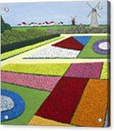 Dutch Gardens Acrylic Print
