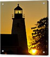 Dyce Head Lighthouse Acrylic Print