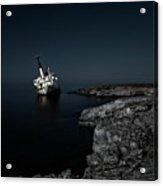 Edro IIi Shipwreck - Cyprus Acrylic Print
