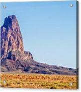 El Capitan Peak Just North Of Kayenta Arizona In Monument Valley Acrylic Print