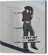 El Paso Western Wear Acrylic Print