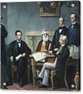 Emancipation Proclamation Acrylic Print by Granger