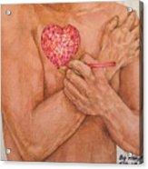 Embrace Love Acrylic Print
