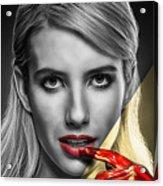 Emma Roberts Collection Acrylic Print