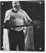Ernest Hemingway Acrylic Print