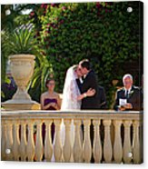 Etzel Mcdougal Wedding Acrylic Print