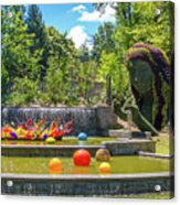 Chihuly Exhibition In The Atlanta Botanical Garden. #02 Acrylic Print