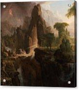 Expulsion From The Garden Of Eden  Acrylic Print