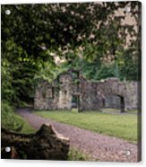 Fairafar Mill, Cramond, Edinburgh Acrylic Print