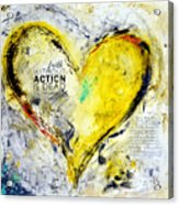 Faith Without Action Is Dead Acrylic Print