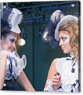 Fashion Show Catwalk Acrylic Print